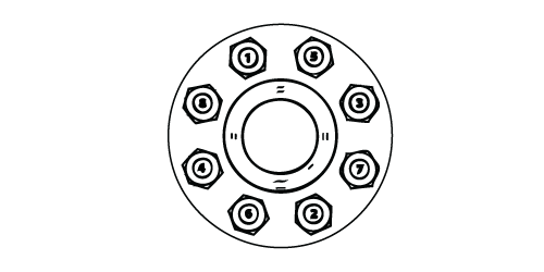 Torque Bolt Pattern Sequence
