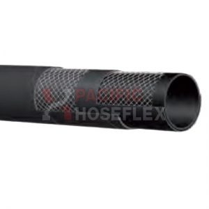 black industrial hose