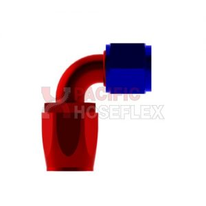 red blue aliminium hose ends