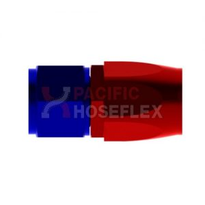 red blue aluminium hose ends