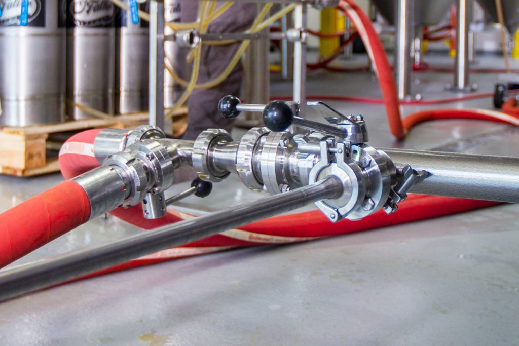 Hoseflex hoses and fittings are crucial to stopping food and beverage manufacturing issues